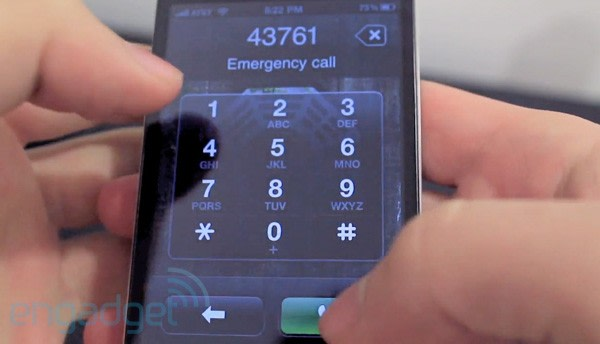 how to by pass google sign in with emergeny dialer