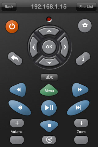 seagate 39 s goflex tv and freeagent theater hd media players get iphone ipad and ipod remote. Black Bedroom Furniture Sets. Home Design Ideas