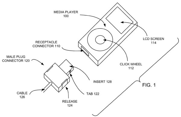 Apple granted patent for a 'reduced size multi-pin