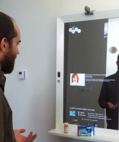New York Times 39 Magic Mirror Helps You Get Dressed Puts