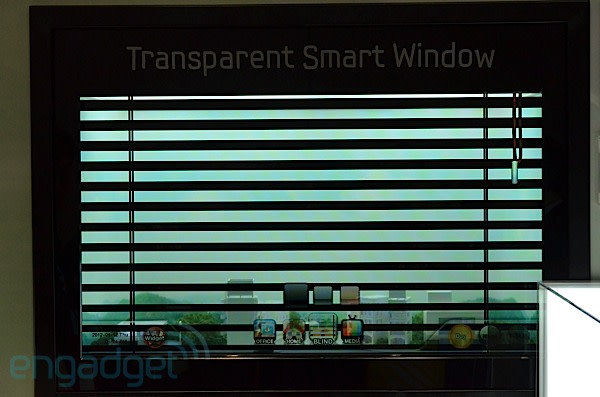 Samsung gets tired of neighbors watching its transparent for Smart window shades