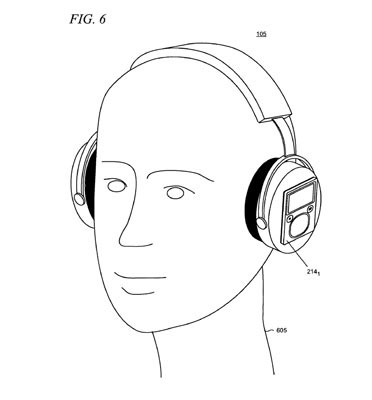 Microsoft patent imagines headphones as accessory docking
