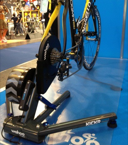 Wahoo Kickr Power Trainer Lets Iphone Cyclists Feel The