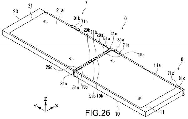 Sony patents a two-way folding device, wants you to have