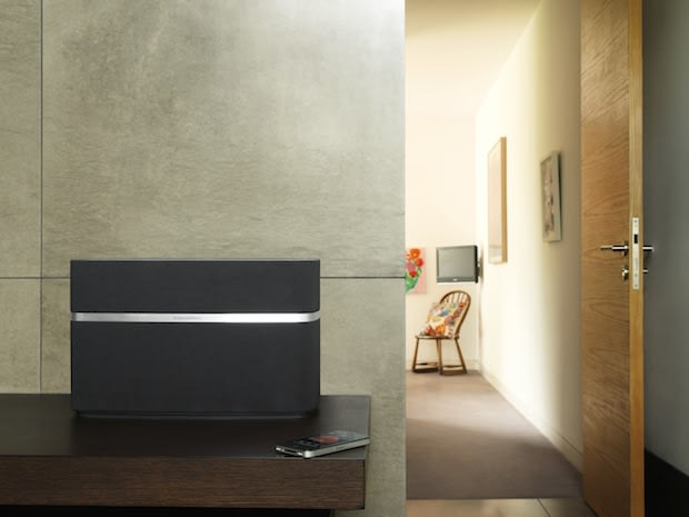 bowers wilkins intros classy a7 and a5 airplay speakers leaves out the 30 pin dock. Black Bedroom Furniture Sets. Home Design Ideas