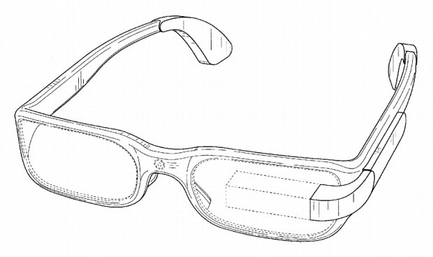 Google nabs design patent for left-eyed Google Glass