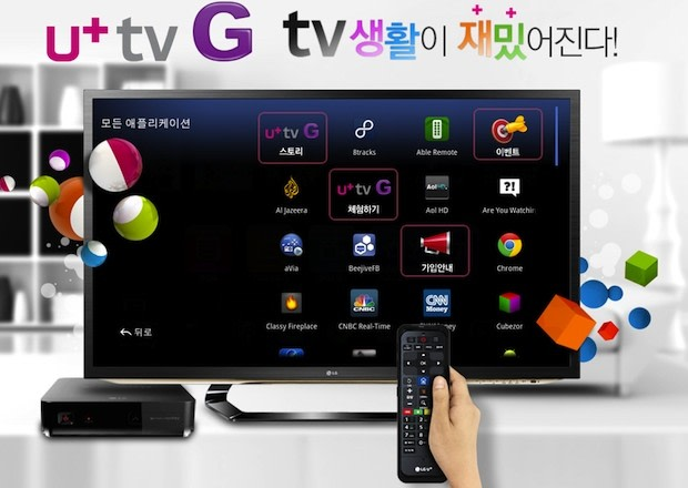 how to set lg tv