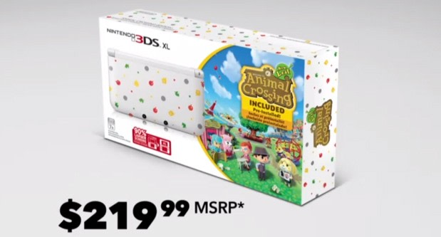 Animal crossing flavored nintendo 3ds xl bundle costs 220 - Animal crossing new leaf consoles ...