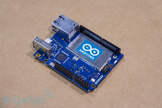 Arduino yun weds wifi and linux at maker faire