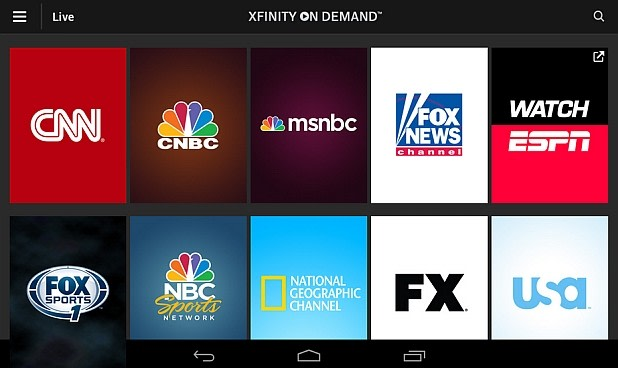 Comcast Xfinity TV adds 18 live-streaming channels with ...