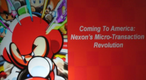 Austin gdc live at the minho kim keynote for Nexon client