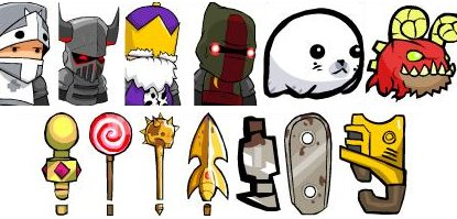 how to get all characters in castle crashers pc