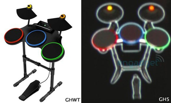 rumor guitar hero 5 drum set to look an awful lot like rock band 39 s. Black Bedroom Furniture Sets. Home Design Ideas