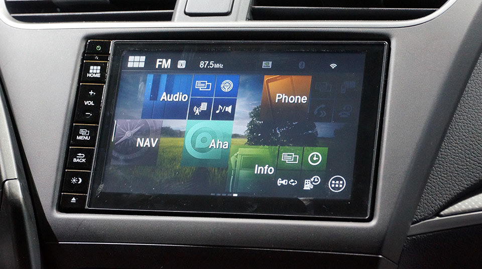 Honda S In Car Connect System Does Android Its Own Way