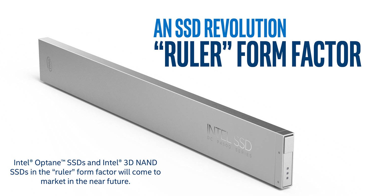 Intel S Push For Petabyte Ssds Requires A New Kind Of Drive