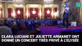 Juliette Armanet et Clara Luciani en concert très privé à