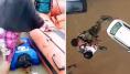 Kerala: en Inde, le dévouement impressionnant des secours après les inondations