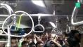 En Inde, un serpent s'invite dans la rame bondée d'un train de