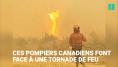 Cette pompière partage les images épiques de sa bataille contre une tornade de