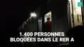 RER A: 1400 personnes bloquées pendant 3 heures entre Charles de Gaulle-Etoile et La