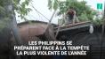 Les Philippines se préparent à l'arrivée du super typhon