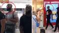 Les images de la violente bagarre entre Booba et Kaaris à l'aéroport de Paris