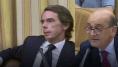 El nervioso lío de Aznar con los padrinos de