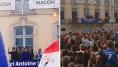 Antoine Griezmann à Mâcon, de retour chez lui avec un discours que l'on connaît