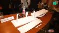 La maquette du nouveau pont de Gênes s'est cassée durant la conférence de presse de