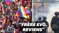 En Bolivie, les pro-Morales manifestent violemment, il est prêt à