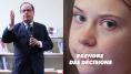 Greta Thunberg et François Hollande font le même constat sur