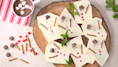 Melted Snowman Chocolate Bark Is An Easy Christmas