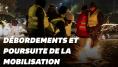 Gilets jaunes: les images des débordements de la nuit du 17