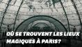 Les lieux de Paris visités par