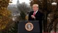 Commémorations du 11 novembre: Donald Trump n'a pas pu s'empêcher de blaguer sur la