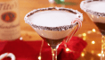 Peppermint Martinis Are The Christmas Drink You Didn't Know You