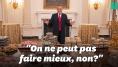 Donald Trump était vraiment fier de son buffet de fast