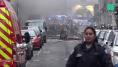 Les images de l'explosion à Paris, rue de