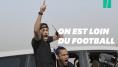 Neymar Jr comme un fou pour une course de