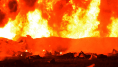 A Tlahuelilpan au Mexique, les images de l'incendie meurtrier d'un