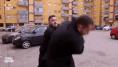 Daniele Piervincenzi e la troupe di Popolo Sovrano aggrediti nella periferia di