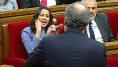 Bronca entre Torra y Arrimadas en el Parlament: