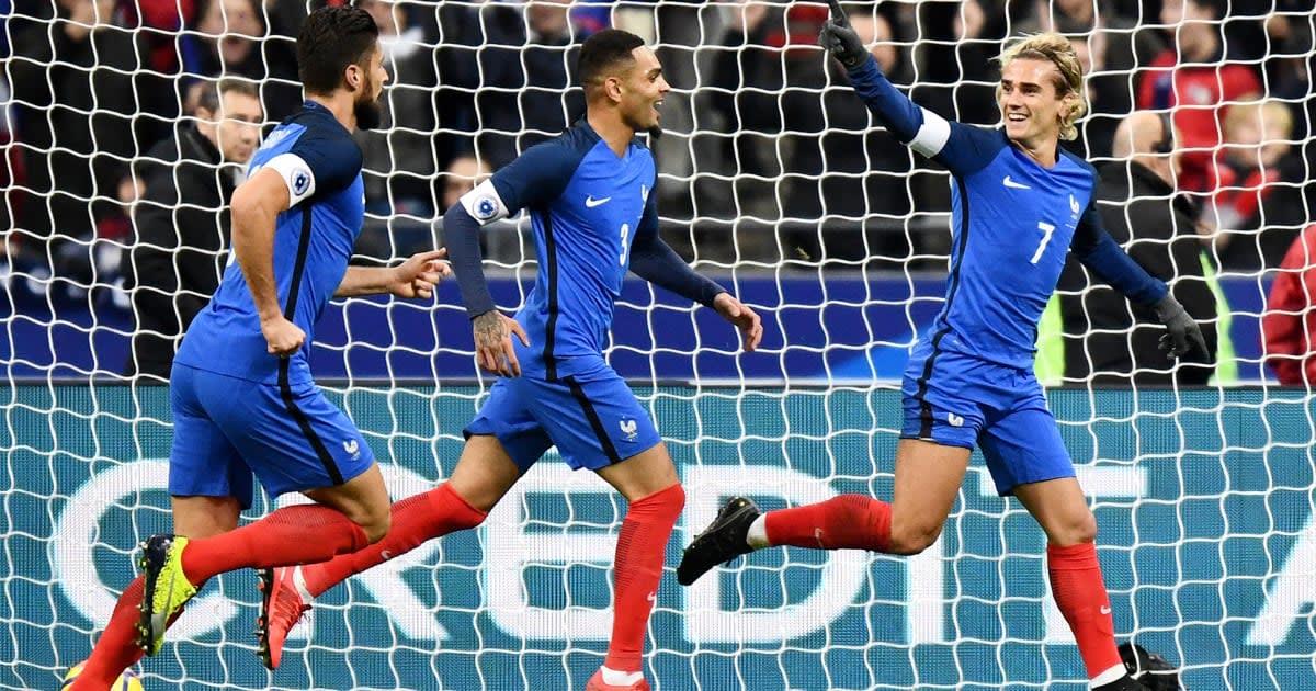 Coupe du Monde 2018  le maillot de l équipe de France a-t-il fuité     Le  Huffington Post 6e097e4f54d