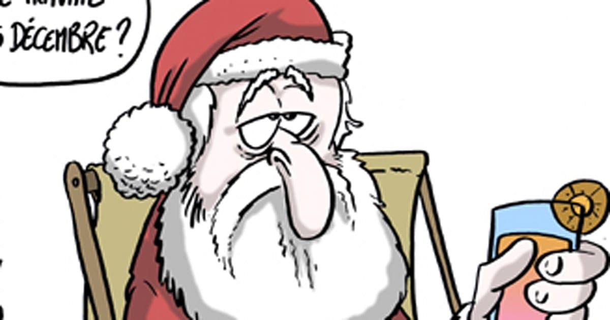 Premiers Jours De Chomage Difficiles Pour Le Pere Noel Le