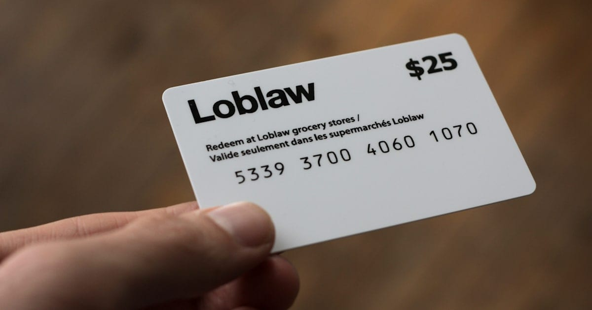 Why Is Loblaw Asking For ID To Get The $25 Gift Card?