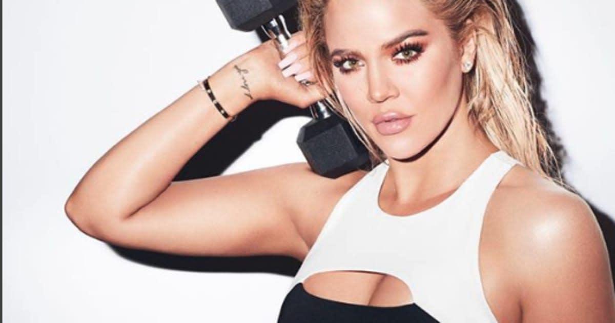Khloe Kardashian lance une ligne de vêtements de sport  11ab8060fe7