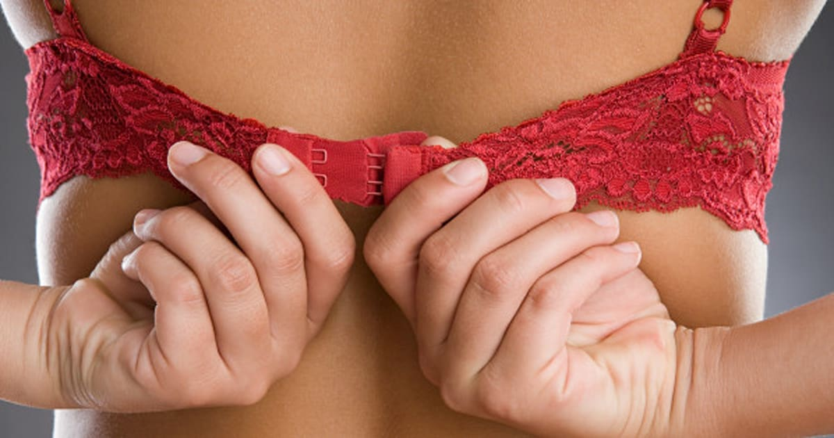 d9554b9787 Bra Only Unhooks If You re In Love (Or Maybe Having Heart Palpitations). The  Huffington Post Canada