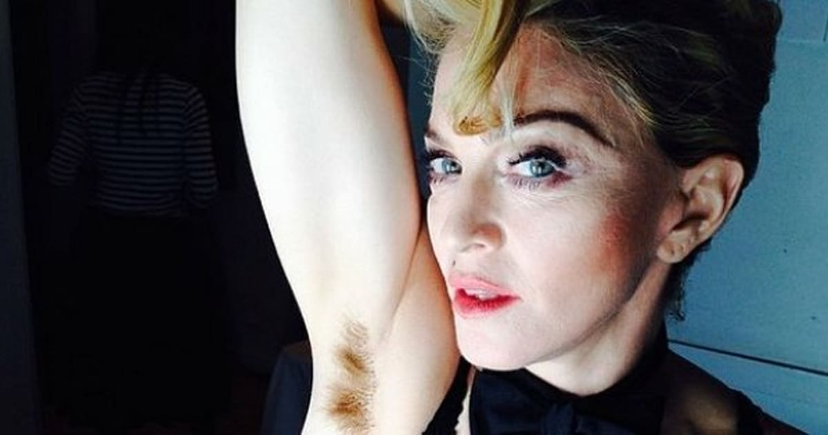 Madonna Shows Off Her Armpit Hair, Which Is Pretty Awesome