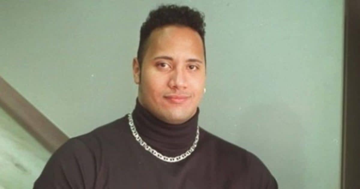 b98a95f3e Dwayne  The Rock  Johnson Rocked  90s Style Like A Bad Ass ...