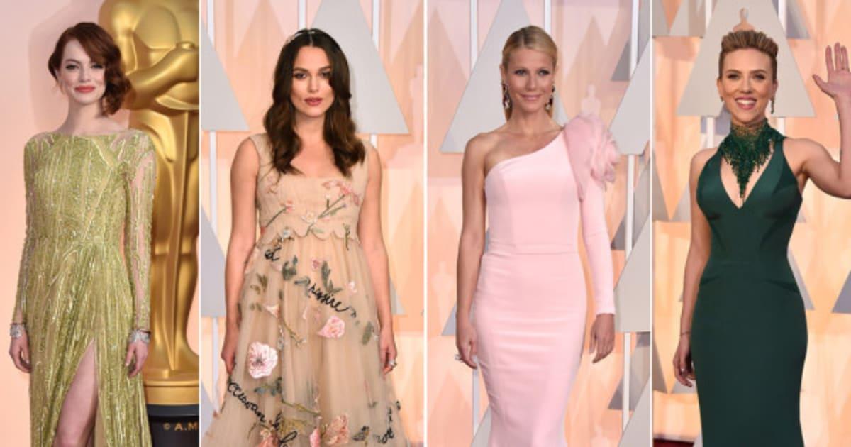 Premios Oscar 2015: todos los vestidos de la alfombra roja (FOTOS ...